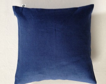 Royal blue pillow cover - decorative pillow cover - cushion case - blue pillow - blue sham custom size pillow  0041