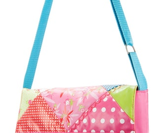 messenger bag for school girls: pretty in pink