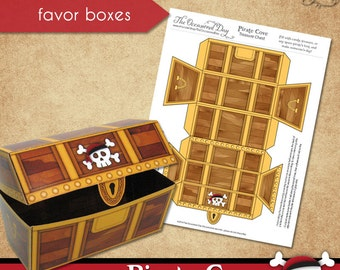 image relating to Treasure Chest Template Printable named Absolutely free printable pirate treasure upper body template