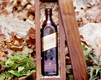 Wine Box - Wine Gift Box - Whiskey Box - Whisky Box