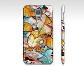 Samsung Galaxy s5 case - Koi Fish art - Koi Fish phone case - Watercolor art fish - art phone case - hardcover case