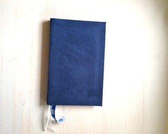 Journal: Bound Journal, Kids, Fun, Notebook, Blue, Hand Sewn, Gift, Unique, Wedding, Stocking Stuffer, For Her, For Him, Blank, Unlined