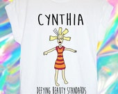CYNTHIA rugrats defying beauty standards UNISEX tshirt 90s