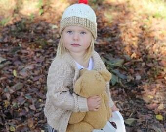 crochet cupcake hat, all sizes!