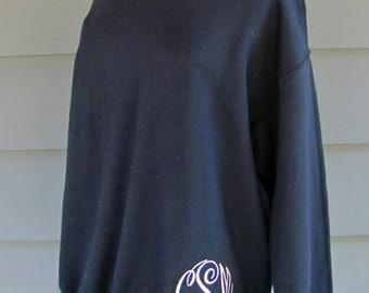 Women's Monogrammed Crewneck Sweatshirt