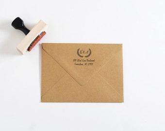 Return Address Stamp, Custom Address Stamp, Personalized Stamp, Wedding Gift