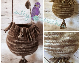 Rustic Woodland Seedpod purse