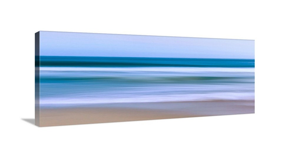 Large Abstract Seascape Canvas Wall Art Ocean Photo