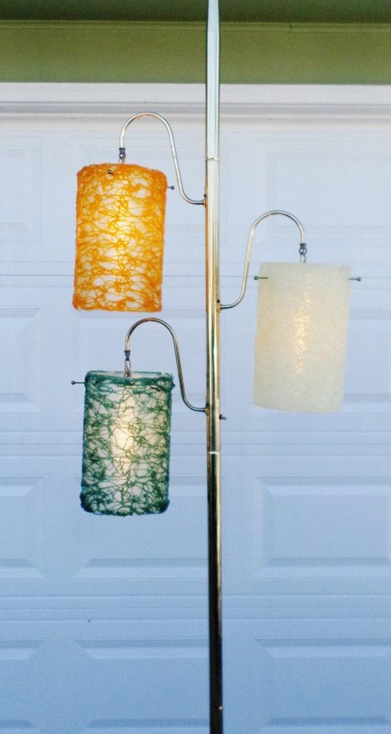 Vintage 1950 S Lucite Spaghetti Pole Lamp Floor Lamp
