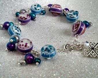 Sparkly Frozen Inspired Bracelet