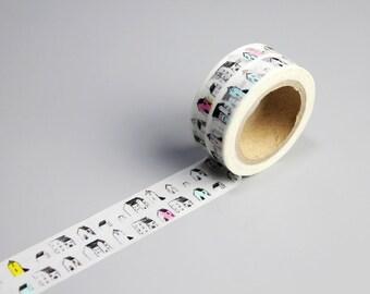 40% OFF Washi Tape - Japanese Washi Tape - Masking Tape - Deco Tape - Washi Paper - Filofax - House