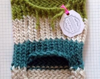 Dapper Dan: Handmade Small Hooded Pet Sweater