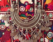 Deesa Necklace Vintage banjara coin necklace