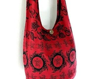 Women bag Handbags Cotton bag Turtle bag Hippie bag Hobo bag Boho bag Shoulder bag Sling bag Messenger bag Tote bag Crossbody bag Purse Red
