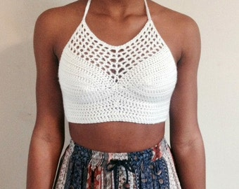 Summer Crochet Halter Top