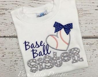 Baseball Sister Tshirt