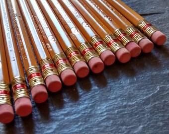 CHOOSE 2+ vintage Berol Mirado 174 pencil: classic yellow barrel wooden pencils Mother's day writer artist birthday gift pack set supply