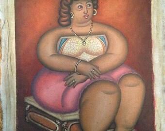 Haitian Painting / Haiti Folk Art