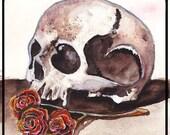 Death Rose - Art print