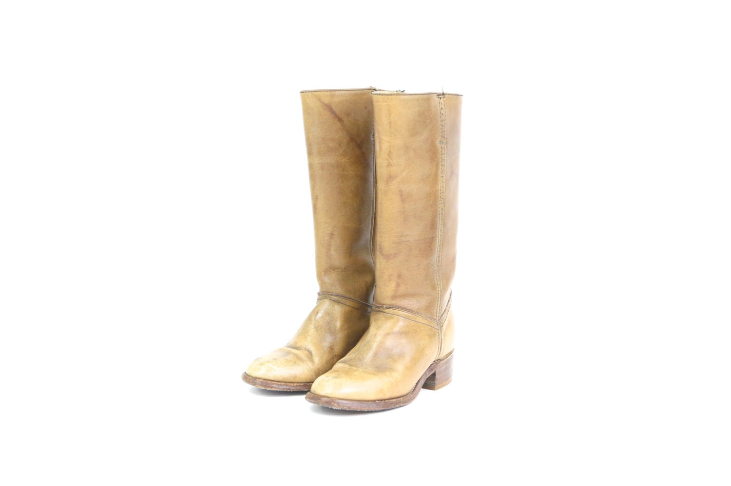 light brown knee high leather s fashion boots by