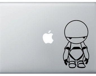 Marvin The Paranoid Android Vinyl Decal