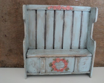 Miniature hall bench
