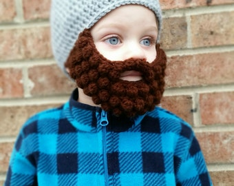 Crochet Bearded Beanie Hat Pattern Pirate Beard Handmade Send Size And Color 254b1ca4 Jpg