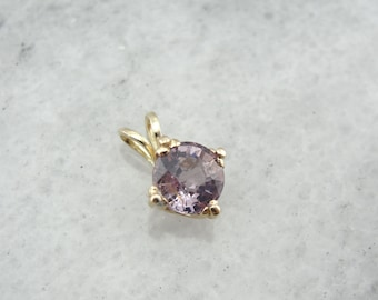 Pink Spinel Pendant in Yellow Gold DPJ0UV-R
