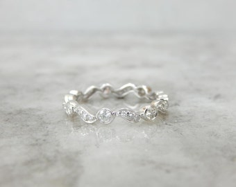 Diamond Eternity Band With Sweeping Style C2KPT1-D