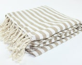 USA SELLER - Turkish Beach Towel, Peshtemal, Fouta, Turkish Bath Towels, Hammam, Yoga, Beach, Beauty, Authentic Turkish Towel