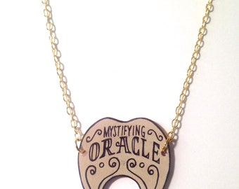 Mystifying Oracle Ouija Planchette Necklace