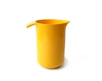 Copco Yellow Pitcher Melamine 1 Quart Mid Century Modern