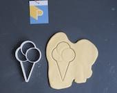 Ice cone cookie cutter...