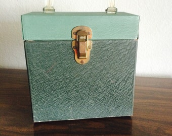 Vintage Vinyl 45 Record Box