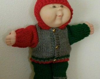 Knitting Patterns For Cabbage Patch Dolls : La newborn Etsy