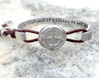 Popular items for message compass on etsy for The universe conspires jewelry