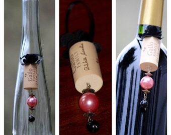 Wine Cork Ornament, Wine Cork, Ornament, Wine Charm, Wine, Christmas Ornament,  Christmas, Stocking Stuffer, Wine Cork Decor, Victorian Xmas