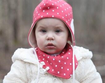 Baby Girl Hat Toddler Children Pilot Hat Kids Autumn Spring Cap Reversible Hat