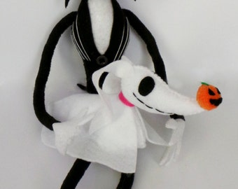 Jack Skellington Plush! Other Burton characters available!