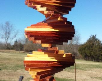 "Wind Spinner - 13"" long - Cedar Wood"