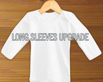 Long Sleeve Baby Bodysuit Upgrade
