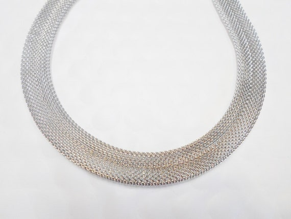 3 feet stainless steel 10mm flat mesh chain finding jewelry