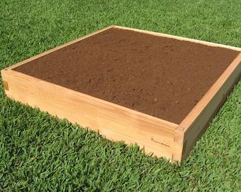 4x4 Cedar Raised Garden Bed