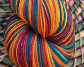 Mexican Tile- self striping yarn