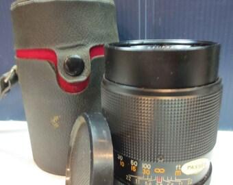 Vintage Kamero 2.8  135mm Camera Lens With Case