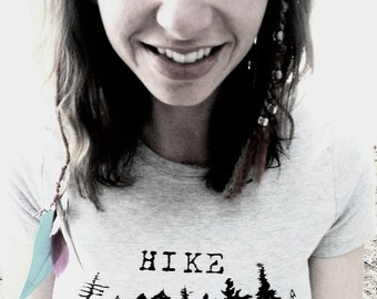 Womens Fitted Hike Your Own Hike t-shirt