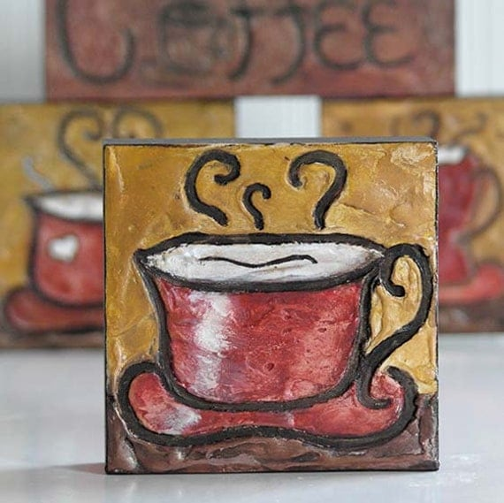 Reserved For Anissa Coffee Decor Coffee Bar Decor Coffee Art Coffee Wood Sign Kitchen Art Coffee