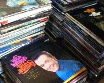 RANDOM Country Music Vinyl Record Album from 1950s - 1980s Vintage Vinyl Surprise