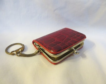 Little Red Coin Purse Key Chain