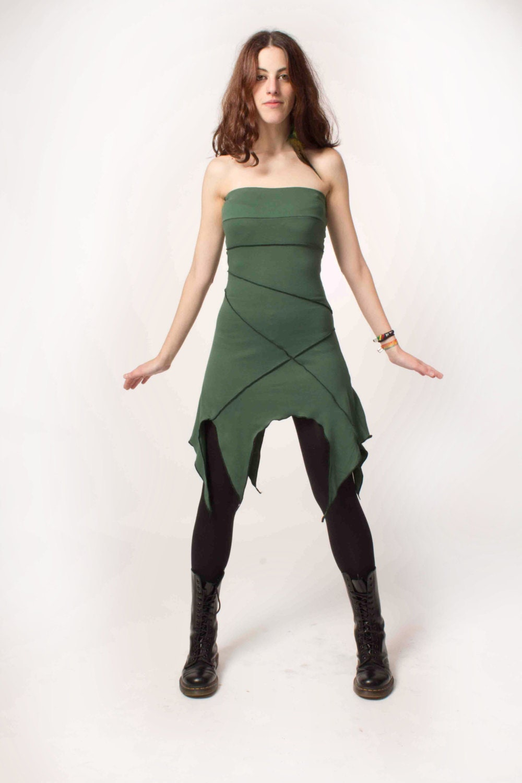 Khepri Dress. Faery Dress Elven Clothing Elven Mini Dress